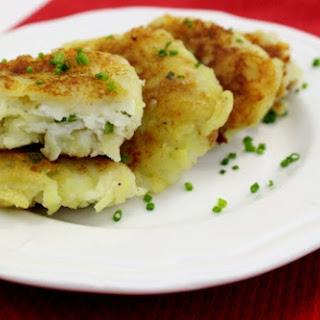 Potato Pampushki With Cheese Filling