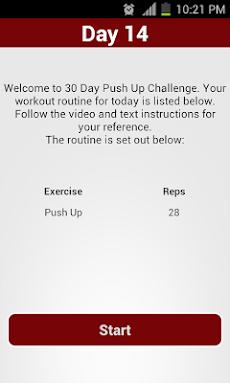 30 Day Push Up Challengeのおすすめ画像4