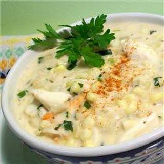 Cajun Crab Soup.