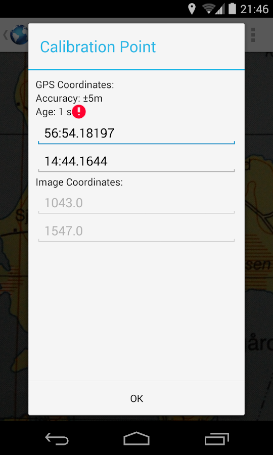 MapCalibrator- screenshot