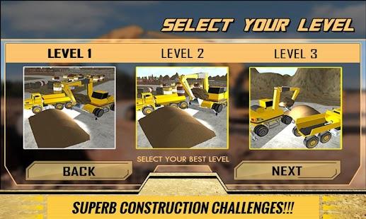 Sand-Excavator-Dump-Truck-Sim 4