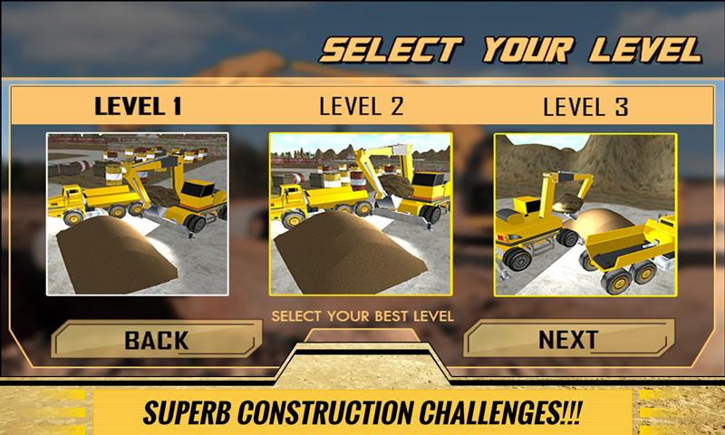Sand-Excavator-Dump-Truck-Sim 19
