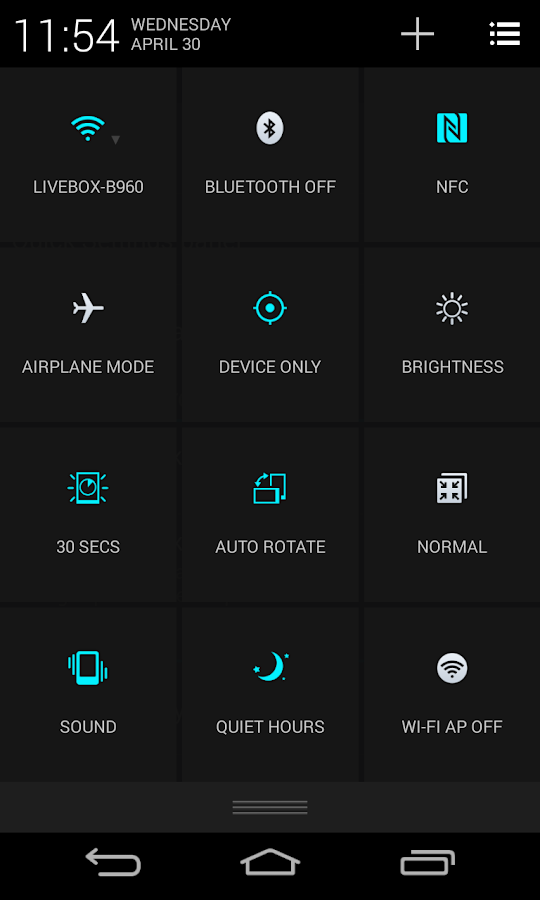 CM11 CM10 LG Optimus G2 Theme- screenshot