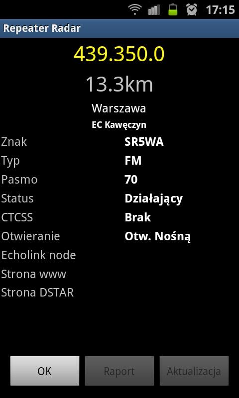 Repeater Radar - screenshot