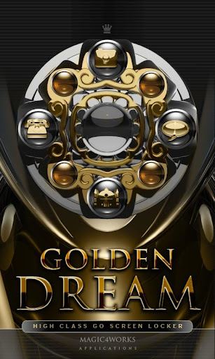 GO Locker Theme Golden Dream
