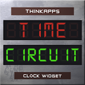 Time Circuits Clock Widget