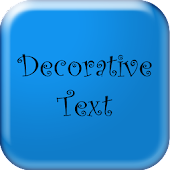 Fancy Text - Decorative Text