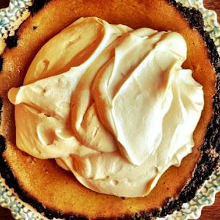 Double Decker Pumpkin- Caramel Pie