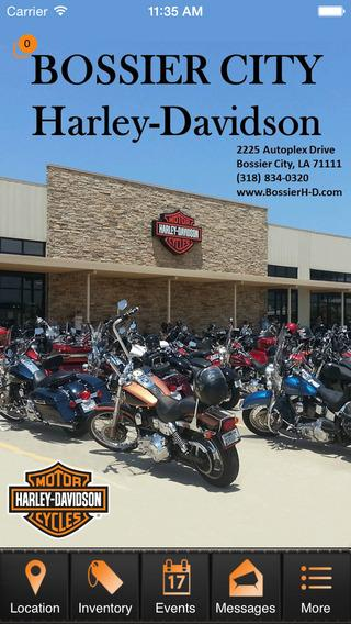 Bossier City Harley-Davidson- screenshot