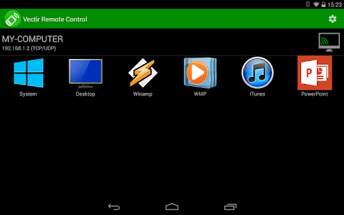 Vectir Remote Control - screenshot thumbnail