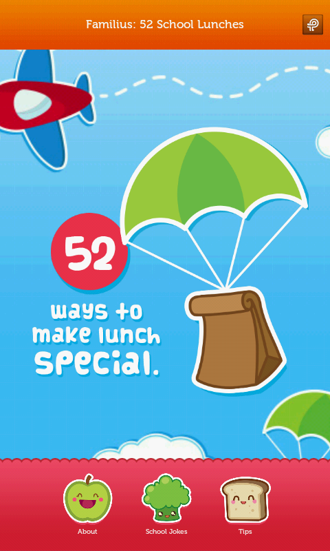 52 School Lunches - screenshot