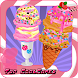 アイスクリームの装飾マシン