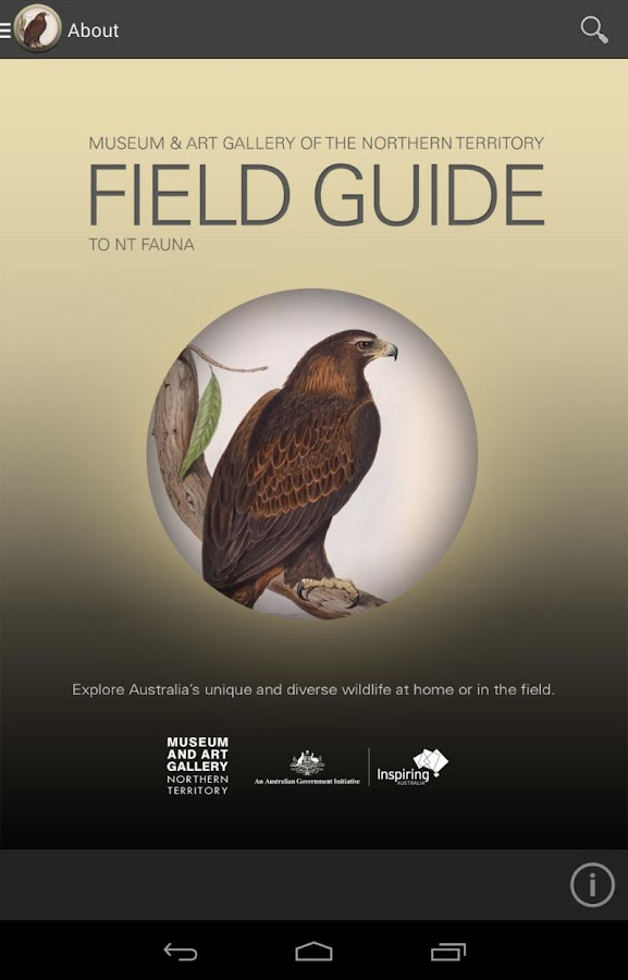 Field Guide Northern Territory - screenshot