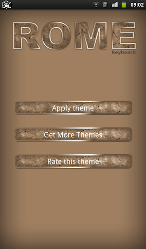 Rome Keyboard Theme