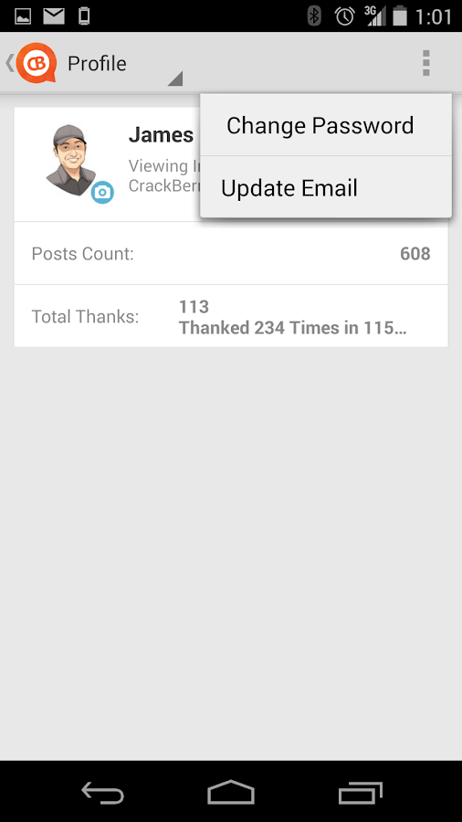 CrackBerry Forums- screenshot
