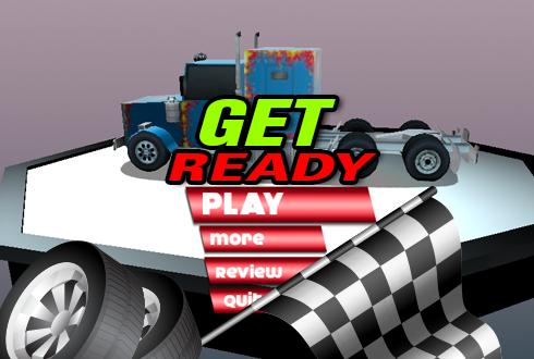 3D Truck Car Speed Racer