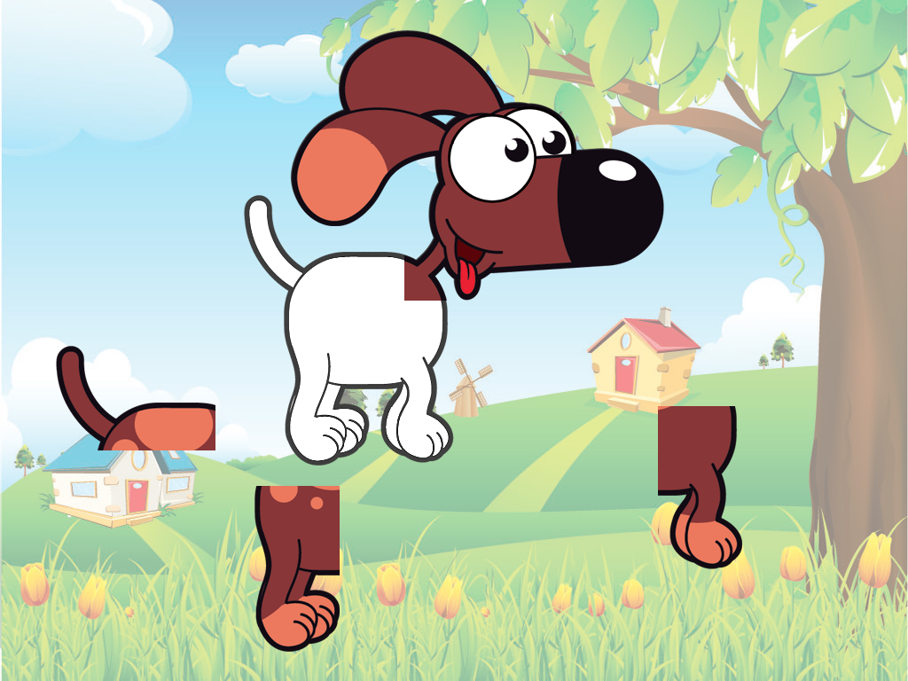 Animal sounds puzzle HD- screenshot