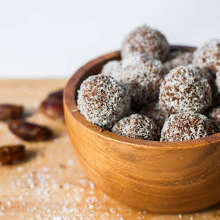 Healthy Nutella Truffles.