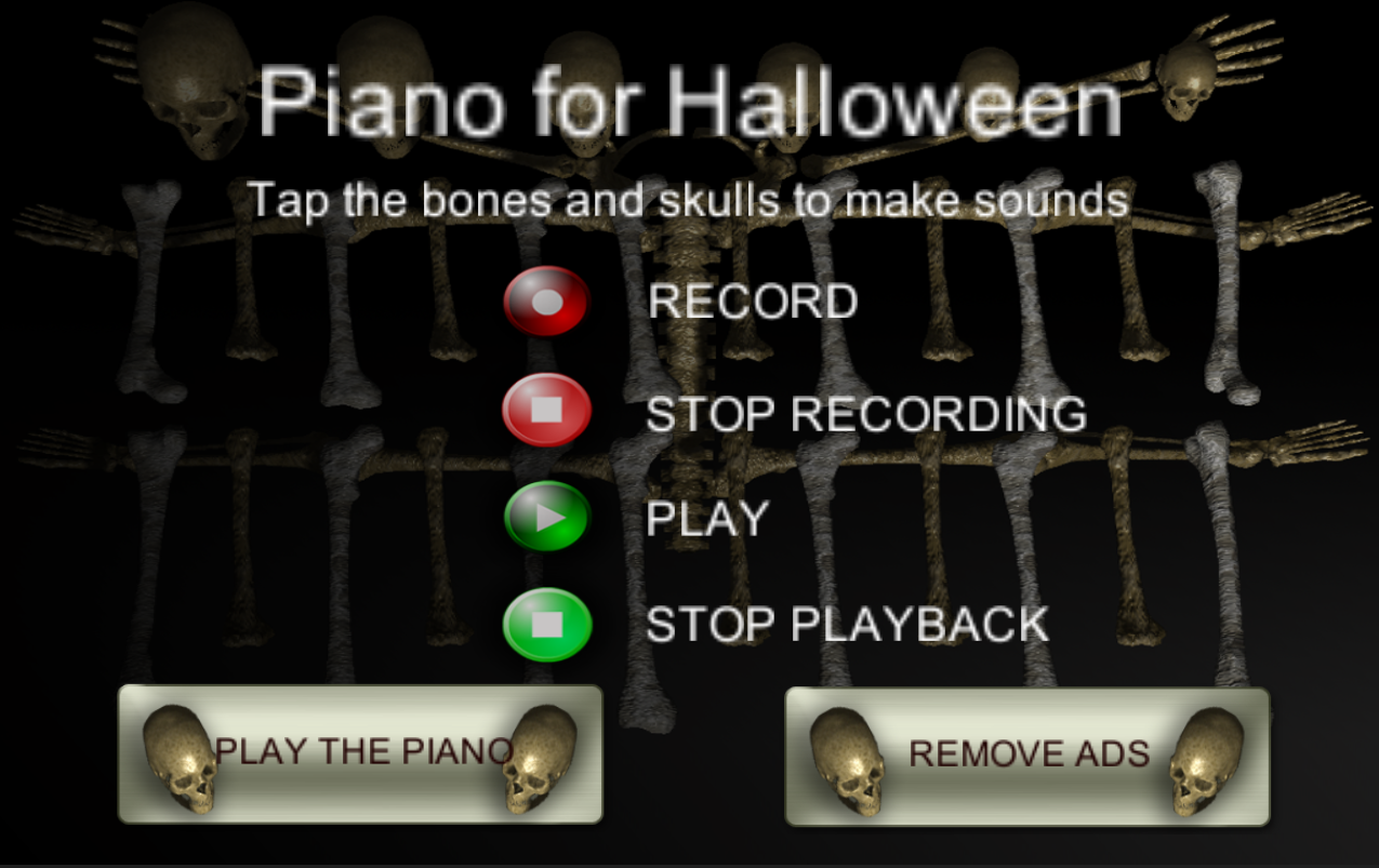 Halloween Piano- screenshot