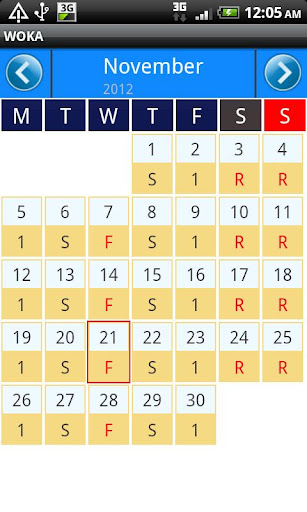 玩商業App|WOKA - 工作日曆免費|APP試玩
