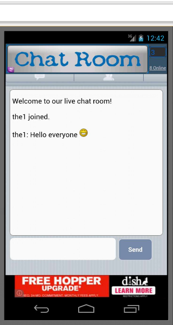 Free Chat Room- screenshot