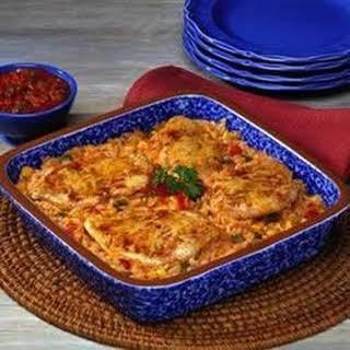 Fiesta Chicken and Rice Bake.