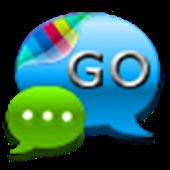GO SMS Pro Cobalt Blue Theme