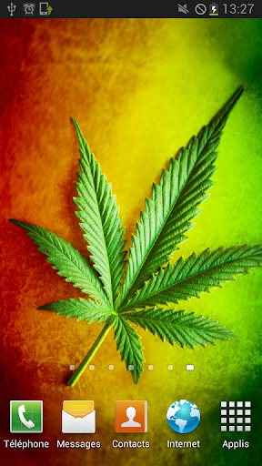 Rasta Weed Parallax LWP