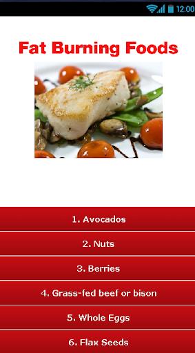 【免費書籍App】Fat Burning Foods !-APP點子