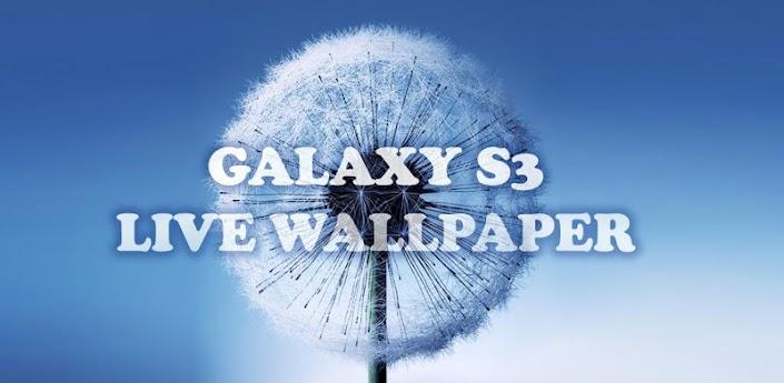 Galaxy S3 dandelion (Галакси С3 одуванчик) - скачать живые обои на андроид