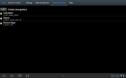 GMD GestureControl Lite ★ root Screenshot 19