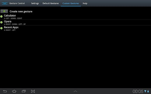 GMD GestureControl Lite ★ root Screenshot 19