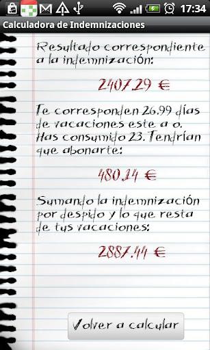 財經必備APP下載 Calculadora de Indemnizaciones 好玩app不花錢 綠色工廠好玩App