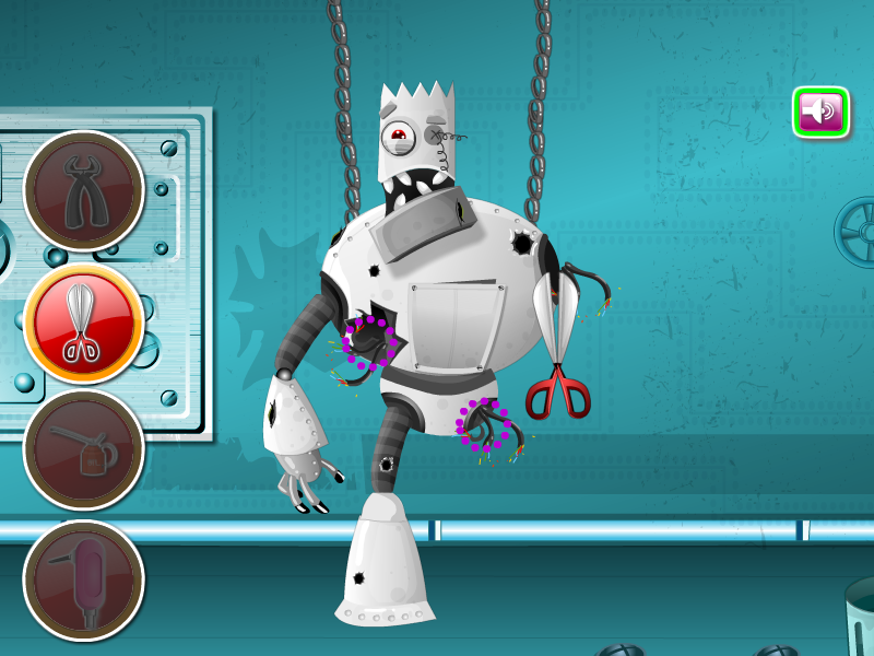 Robo Monster At Clinic- screenshot