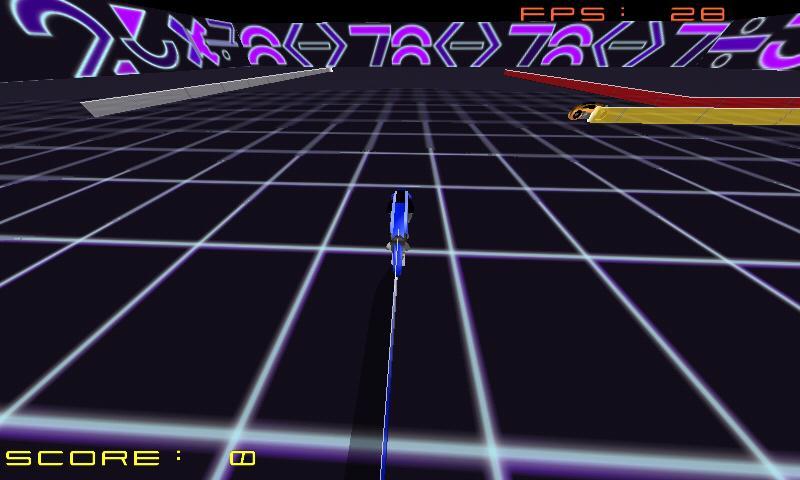 GL TRON - screenshot