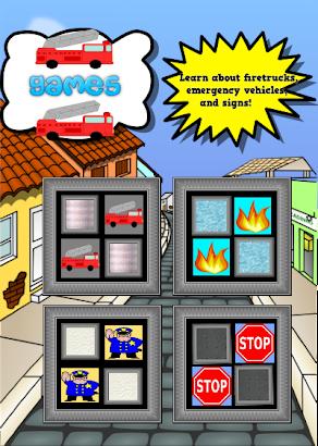 Fire Truck Games For Kids Free- screenshot thumbnail