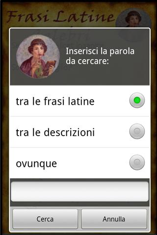 Famous Latin Phrases - screenshot
