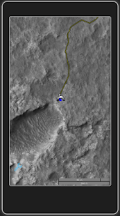 Curiosity Rover track map- screenshot thumbnail