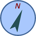 Rapid Compass (Tasteful Blue) icon