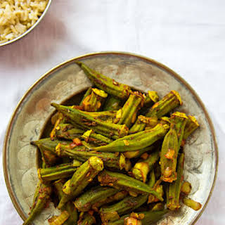 Roasted Okra Masala.