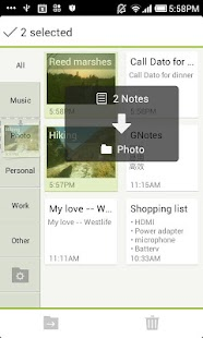GNotes - Sync Notes with Gmail - screenshot thumbnail