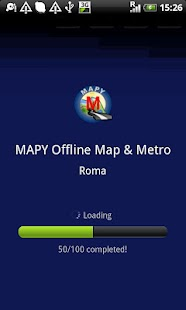 MAPY: Rome Offline Map & Metro- screenshot thumbnail