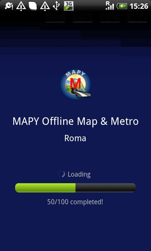 MAPY: Rome Offline Map & Metro- screenshot