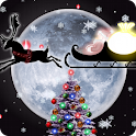 Christmas Live Wallpaper Santa logo