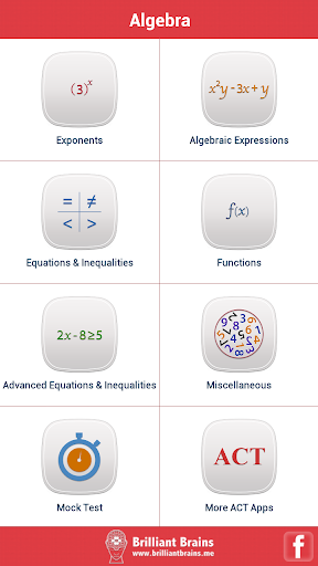 ACT Math : Algebra