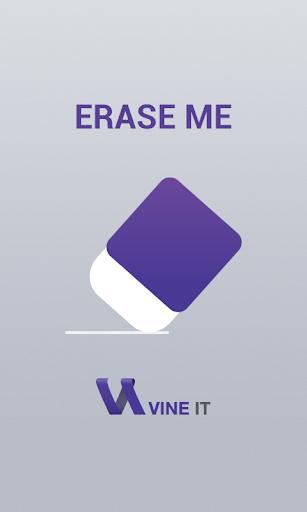 EraseMe Erase user data
