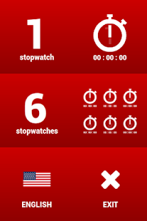 Multiple stopwatches FREE - screenshot thumbnail