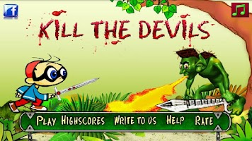 Screenshot of Kill The Devils Action Game