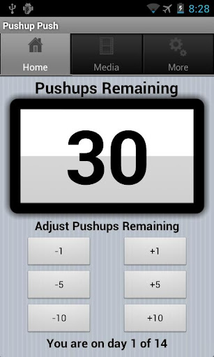 Double Your Pushups Two Weeks