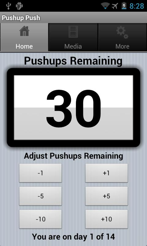 Double Your Pushups Two Weeks- screenshot